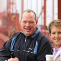 Bruce and Linda at the Golden Gate Bridge